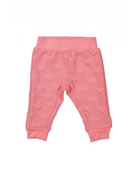Joggery spodnie niemowlęce 5L35A2