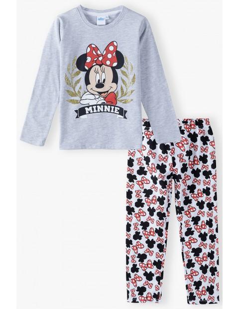 Piżama dziewczęca szara Minnie