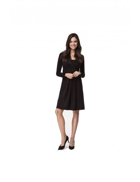 Sukienka ciążowa czarna 5O35LI