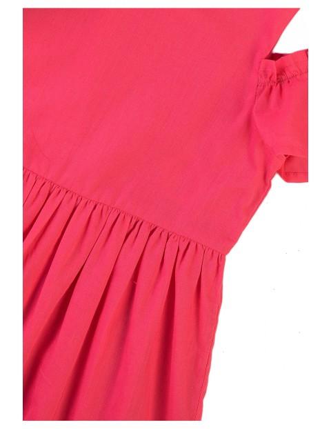 Sukienka dziewczęca z rękawem typu cold arms