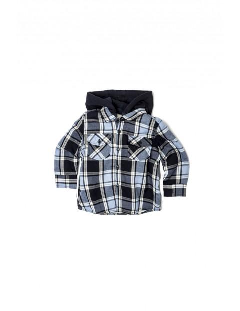 Koszula niemowlęca w kratkę 5J33A2