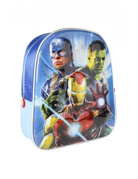 Plecak Avengers 3D premium, metalizowany
