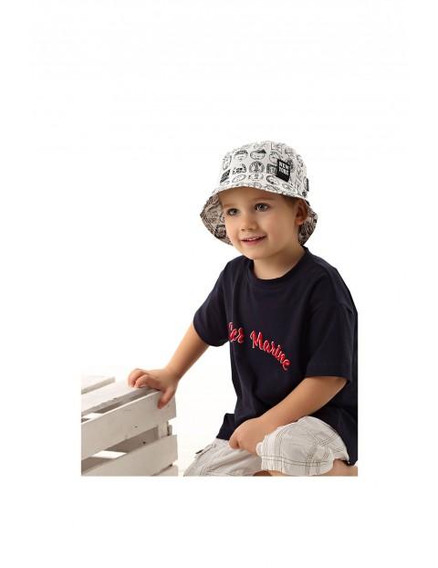 Kapelusz bawełniany dla chłopca rozm 48