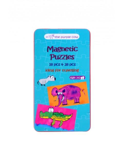 Puzzle magnetyczne Purple Cow Puzzle