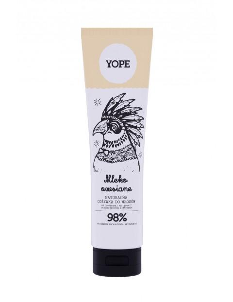 YOPE Odżywka Do Włosów Normalnych Mleko Owsiane 170ml