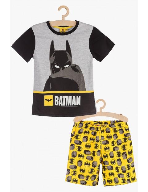 Pidżama chłopięca Batman czarno-zółta rozm 140