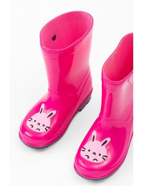 Kalosze dla dziewczynki- różowe