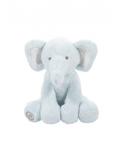 Pluszowy Słoń Dominique niebieski wysokość 15cm