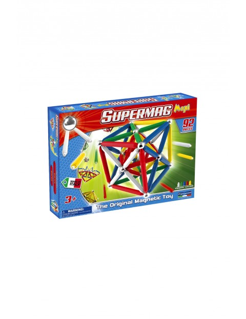 Klocki magnetyczne Supermag 92el