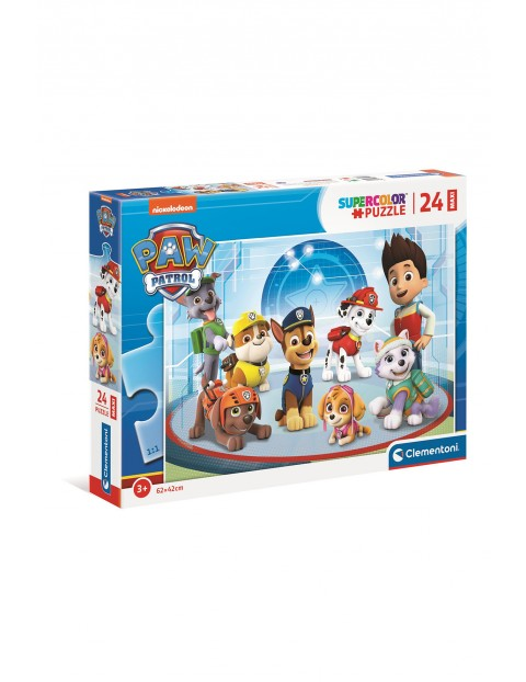 Puzzle Maxi Super Color Psi Patrol  - 24  elementy wiek 3+