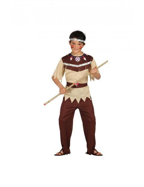 Strój karnawałowy Indianin 7-9lat 2Y34AJ