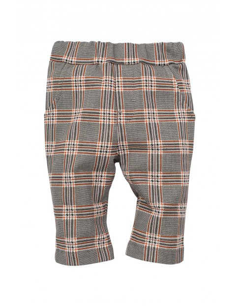 Spodnie w kratę Bears Club