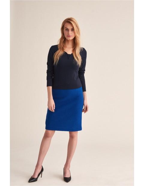 Spódnica damska Betani  - niebieska