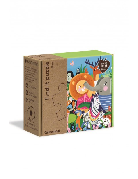 Puzzle Znajdź to Wiosna Clementoni - 60 el