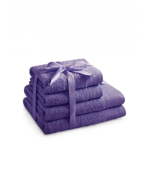Komplet ręczników bawełnianych AmeliaHome fioleto 4 sztuki