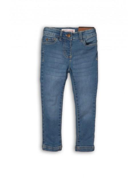 Spodnie niemowlęce jeansowe- niebieskie rurki