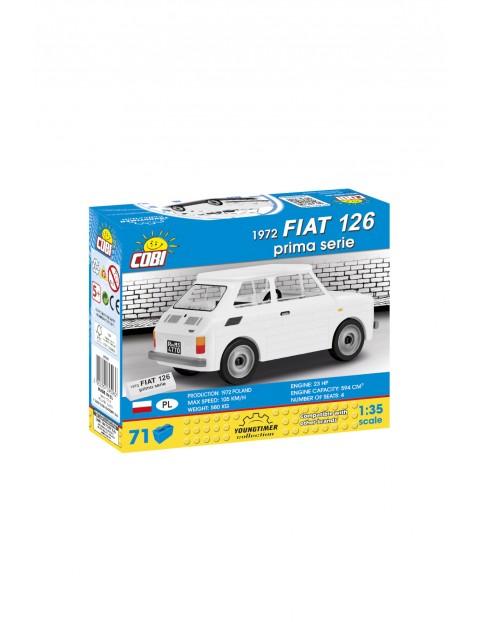 Klocki COBI 1972 FIAT 126 Prima Serie 71el