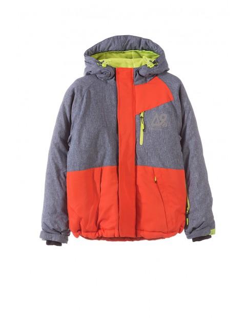 Kurtka narciarska chłopięca 2A3307
