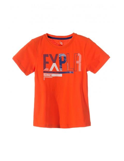 T-shirt chłopięcy 100% bawełna 2I3516