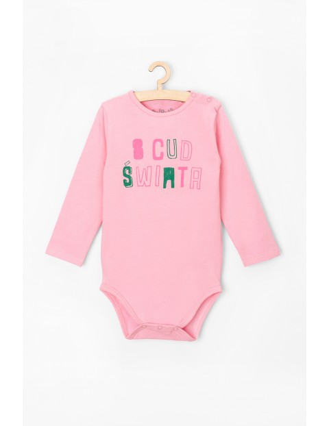 Body niemowlęce z polskim napisem