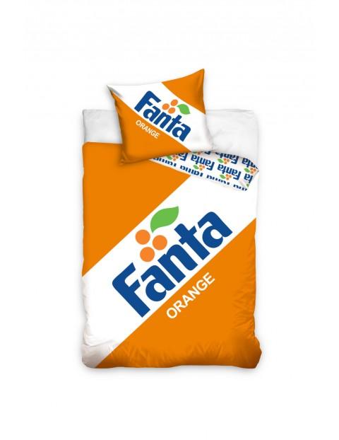 Pościel bawełniana Fanta Orange 160x200+70x80 cm