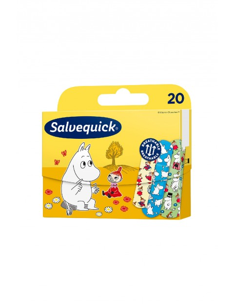 Salvequick plastry opatrunkowe Muminki 20 szt.