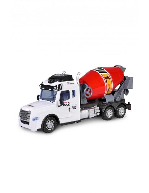 Auto ciężarowe zdalnie sterowane betoniarka wiek 3+