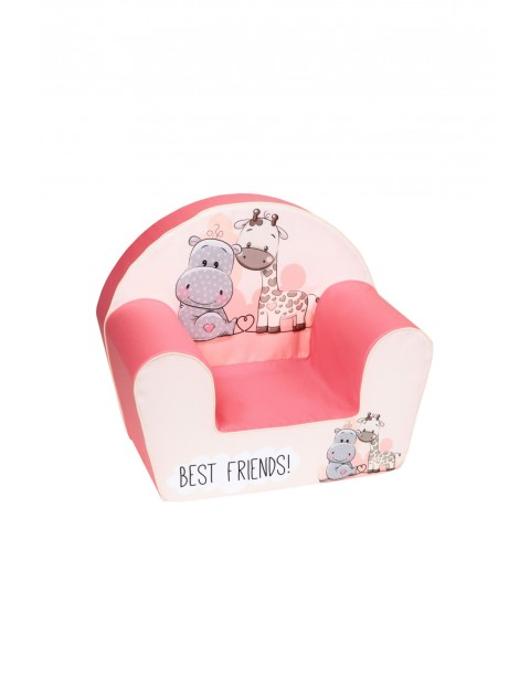 Fotelik piankowy dla dziewczynki Delsit Best Friends