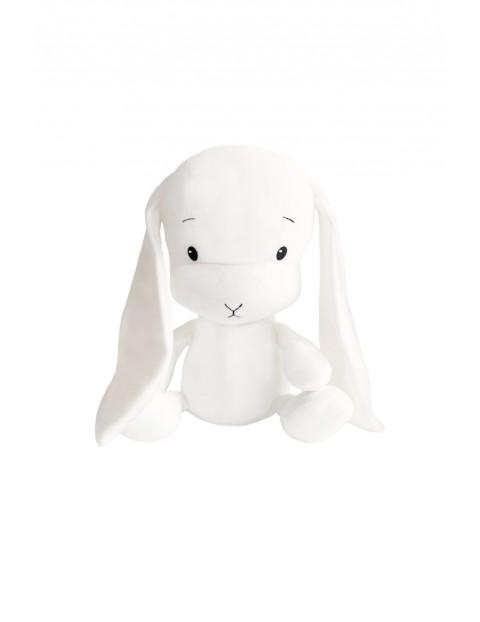Królik Effik M biały, białe uszy