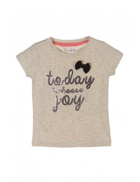T-shirt dziewczęcy 3I3109