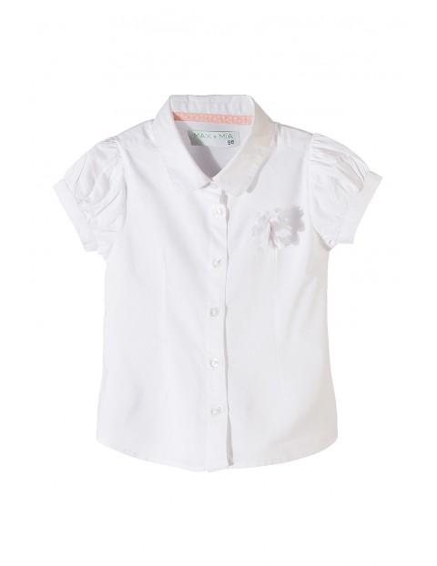 Koszula dziewczęca krótki rękaw