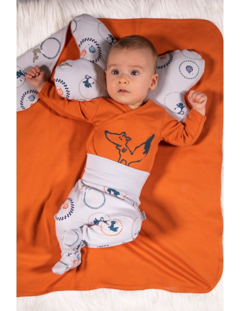 Półśpiochy niemowlęce bawełniane Fox Club
