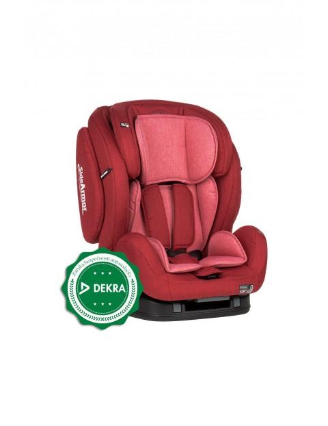 Fotelik samochodowy Prime II Isofix czerwony 9-36 kg