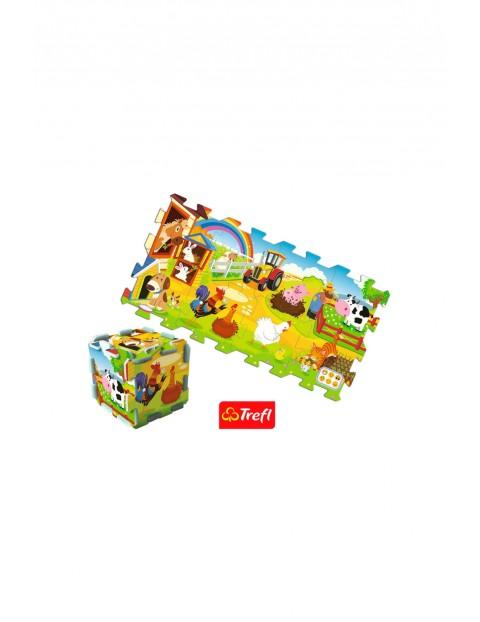 Puzzle piankowe Trefl- Farma