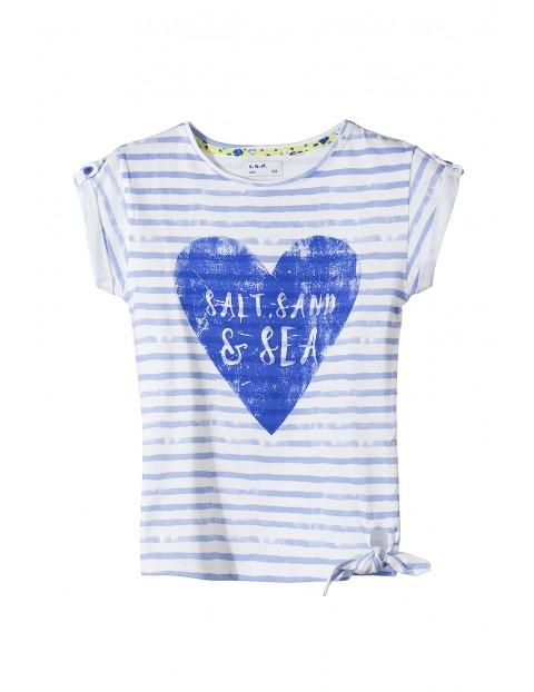 T-shirt dziewczęcy 3I3218