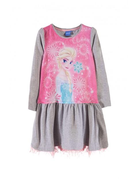 Sukienka dziewczęca Kraina Lodu 3K33AD