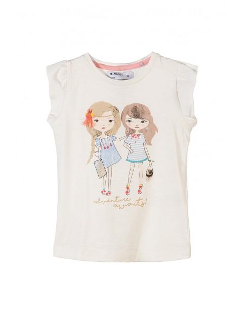 T-shirt dziewczęcy 3I3421