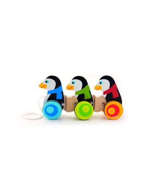Drewniane pingwinki Trefl