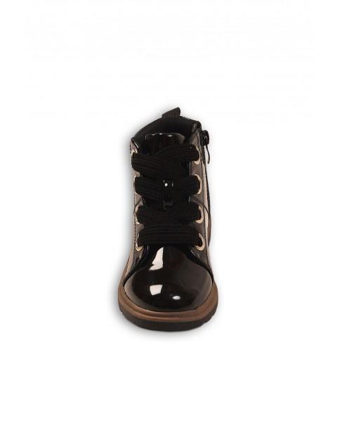 Buty dziewczęce - czarne