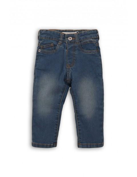 Spodnie chłopięce jeansowe 1L35BG