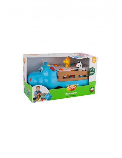 Hipciowóz- sorter- zabawka edukacyjna 12msc+