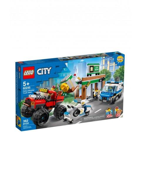 Lego City - Napad z monster truckiem - 362 el wiek 5+