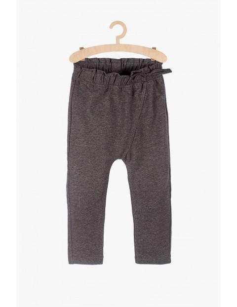 Spodnie niemowlęce - szare