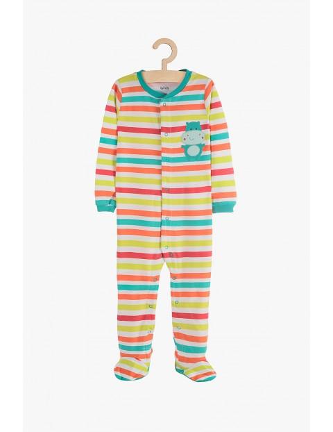 Pajac niemowlęcy kolorowy