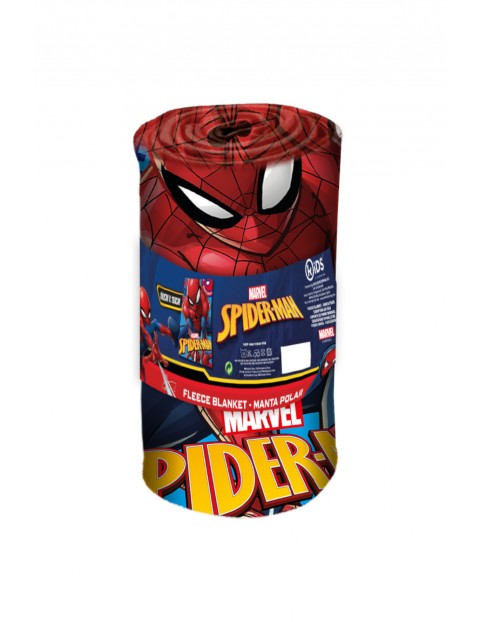 Koc polarowy z motywem Spiderman 150x100cm