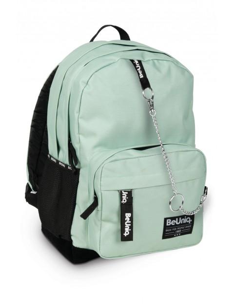 Plecak szkolny dwukomorowy dla dziewczynki