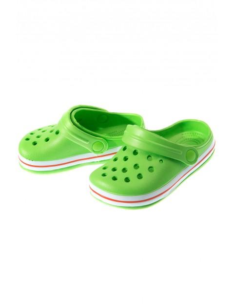 Klapki zielone 1Z3403