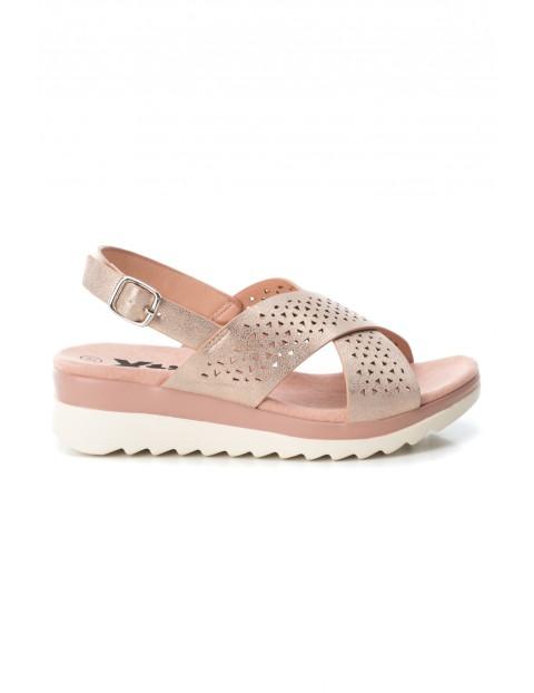 Sandały dziewczęce różowe