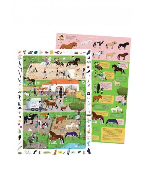 Puzzle 84 obserwacyjne Stadnina koni CzuCzu wiek 5+