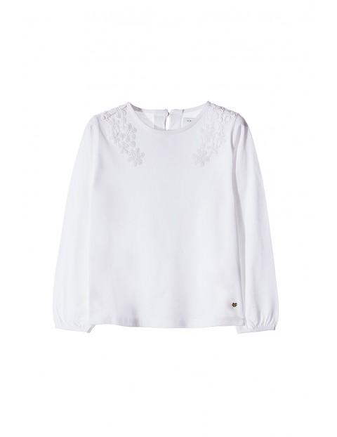 Bluzka dziewczęca biała